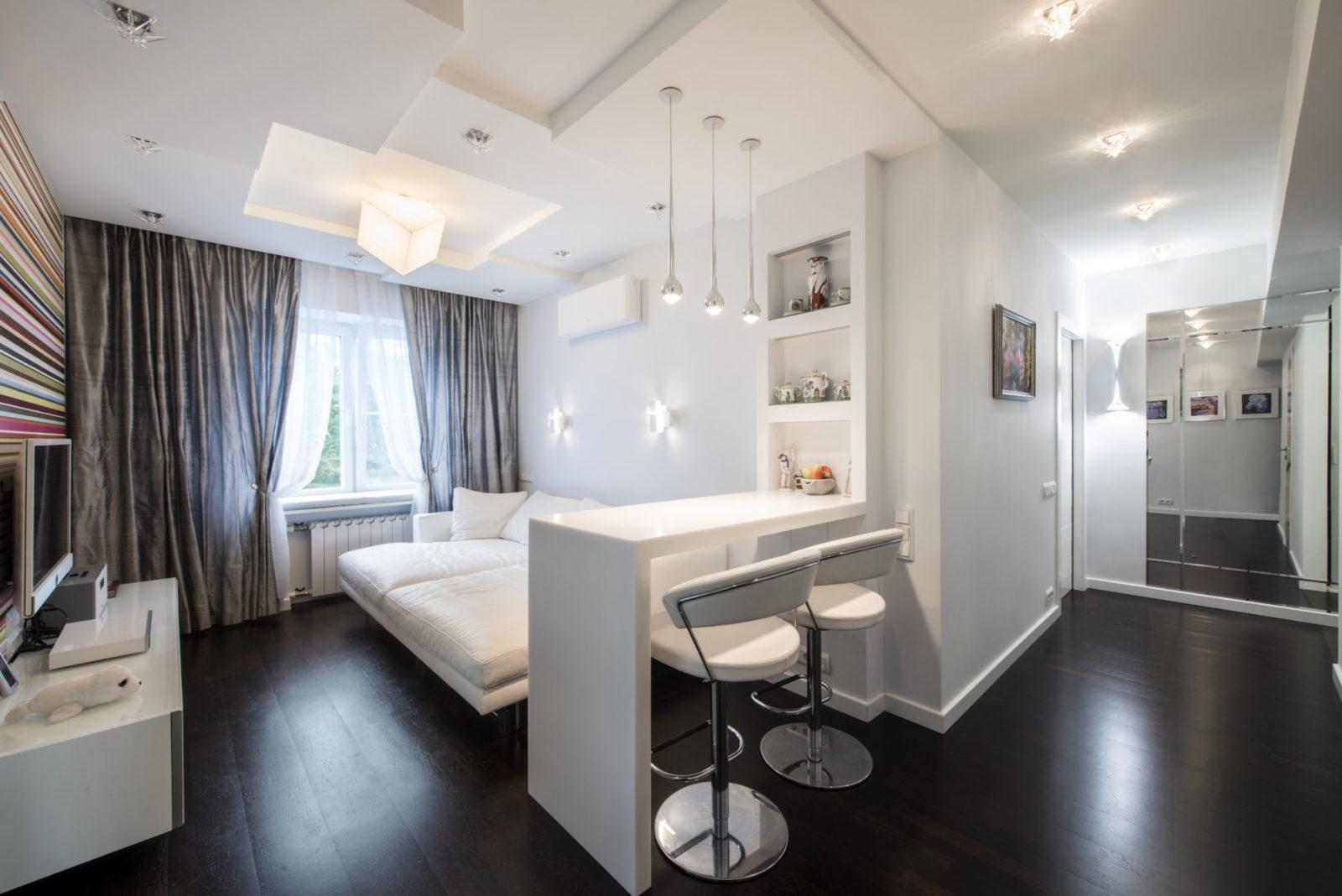 Дизайн проект интерьера квартиры на Волконском переулке