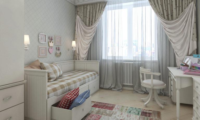 Дизайн проект интерьера квартиры на ул. Кастанаевская
