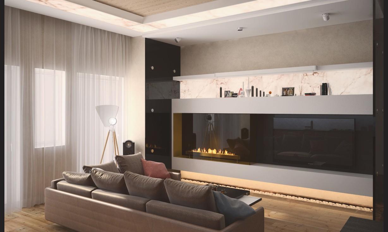 Дизайн-проект интерьера дома в КП Покровский
