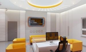 Дизайн проект интерьера офиса в «Савеловский сити»