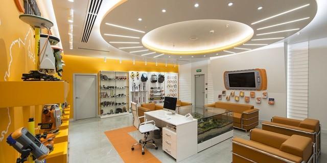 Дизайн-проект офиса БЦ Савеловский Сити