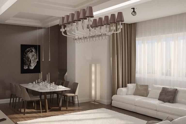 Дизайн проект интерьера квартиры в ЖК Измайловский к.1