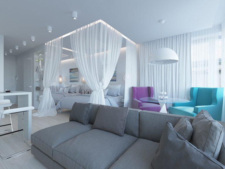 Дизайн проект интерьера квартиры ЖК АРТ г.Красногорск