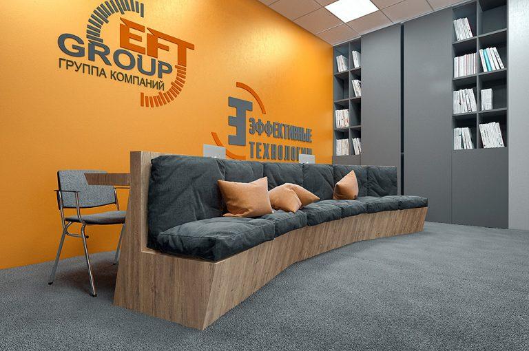 Дизайн проект интерьера офиса в Санкт-Петербурге