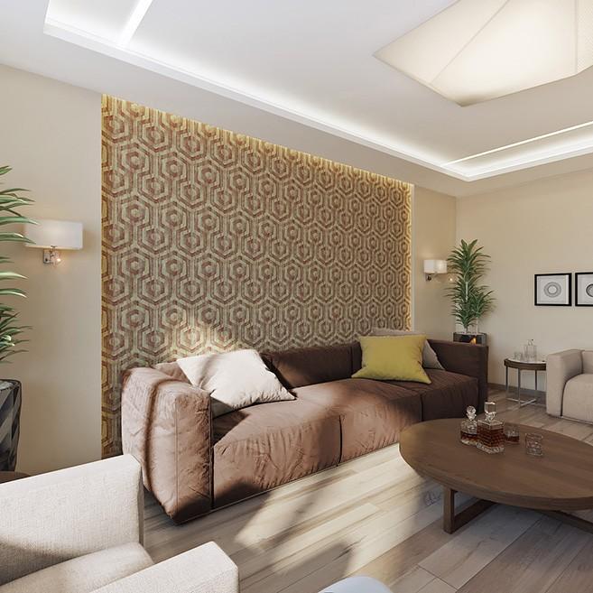 Дизайн-проект квартиры в ЖК Квартал 38 А