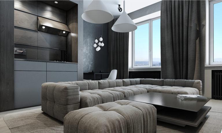 Дизайн-проект интерьера квартиры в Б. Девяткинский переулок