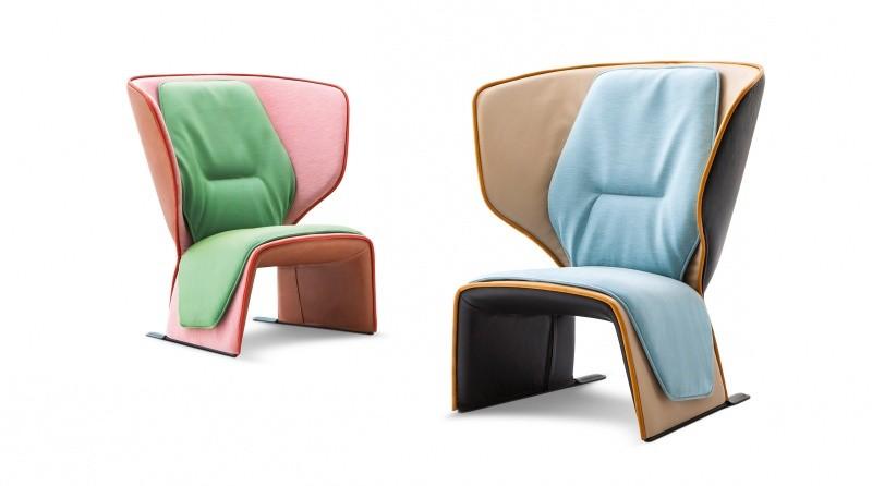 Новые кресла дизайна Патриции Уркиолы для Cassina