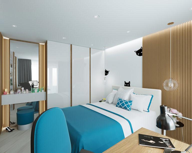 Дизайн-проект интерьера квартиры в ЖК Символ