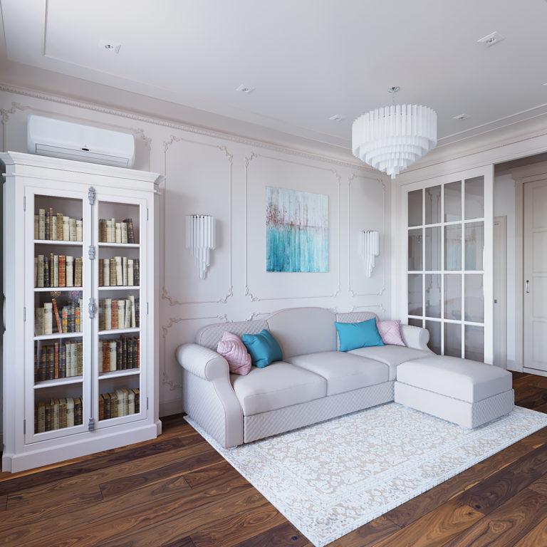 Дизайн-проект интерьера квартиры в ЖК Царская Площадь