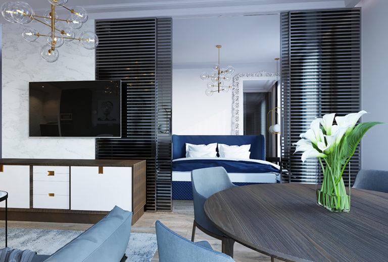 Дизайн-проект интерьера квартиры в ЖК LIFE-Ботанический сад